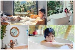 'Bao đẹp' những chiếc bồn tắm đỉnh cao ở homestay Đà Lạt