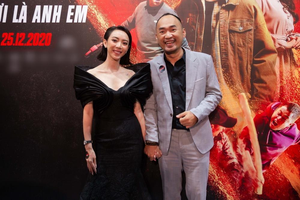 Cùng đến dự ra mắt phim Chị Mười Ba, Nam Em suýt chạm mặt Trường Giang - Nhã Phương-1