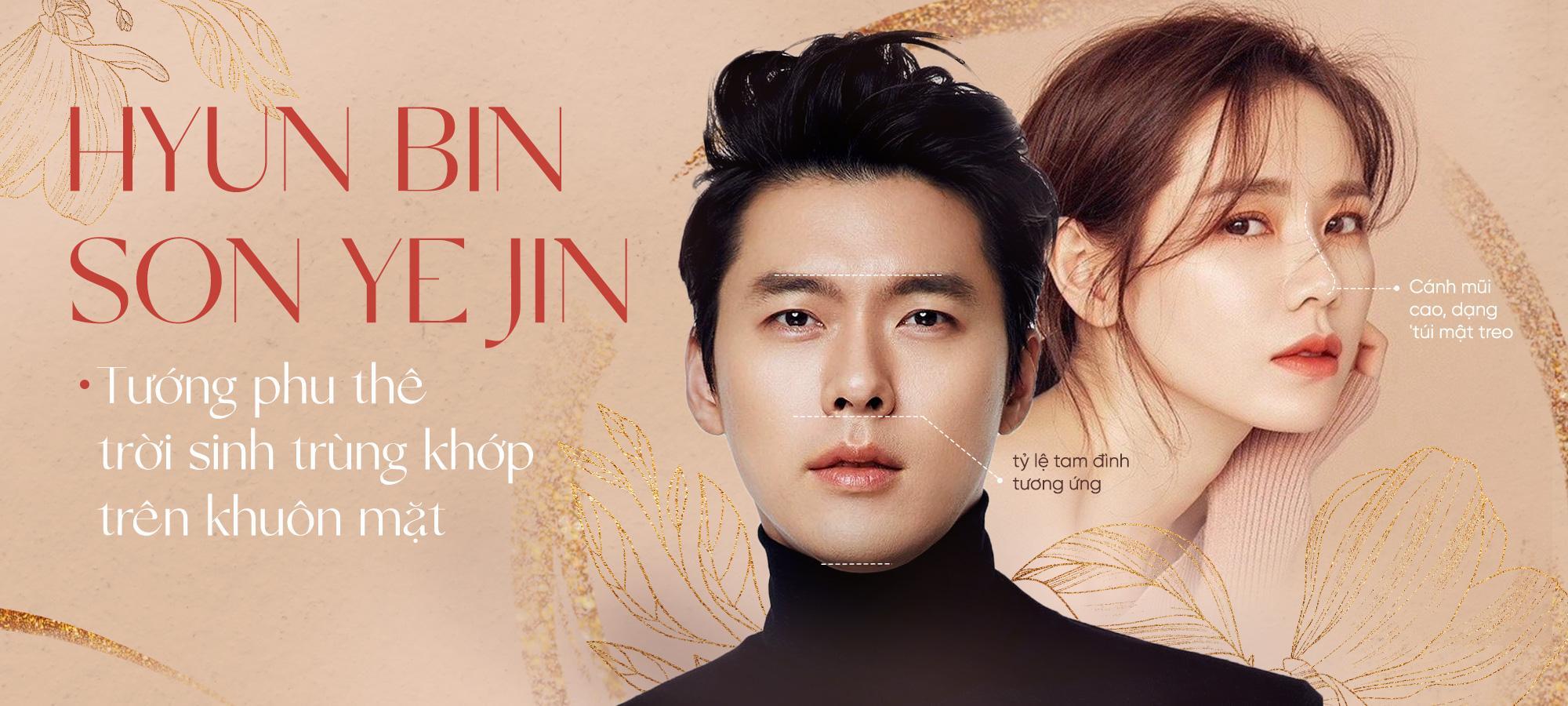 Cặp đôi 'vàng' Hyun Bin và Son Ye Jin nên duyên vợ chồng nhờ tướng phu thê 'trời sinh'?
