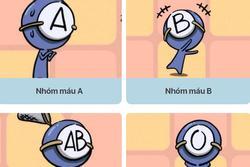 Khả năng tiết kiệm tiền của các nhóm máu A, B, AB và O