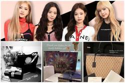 BLACKPINK khoe quà Giáng sinh hàng hiệu: Jisoo có túi Dior thêu tên, choáng nhất là quà của Rosé và 'boss'