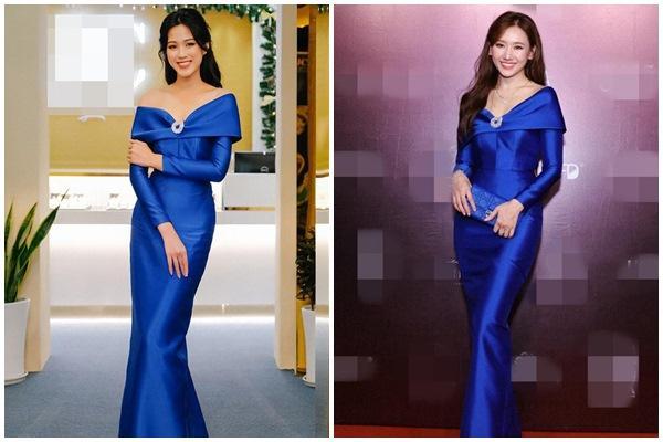 Hơn Hoa hậu Đỗ Thị Hà 16 tuổi, Hari Won đẹp chẳng kém cạnh khi đụng hàng-8
