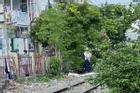Băng qua đường ray ở TP.HCM, người phụ nữ bị tông chết