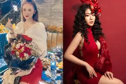 Đêm Noel của hot girl Việt: Kelly được tặng tiền trăm triệu, Linh Miu diện đồ hở hang