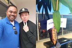Chồng Thu Phương viếng mộ cố nghệ sĩ Chí Tài, hé lộ thông tin bất ngờ