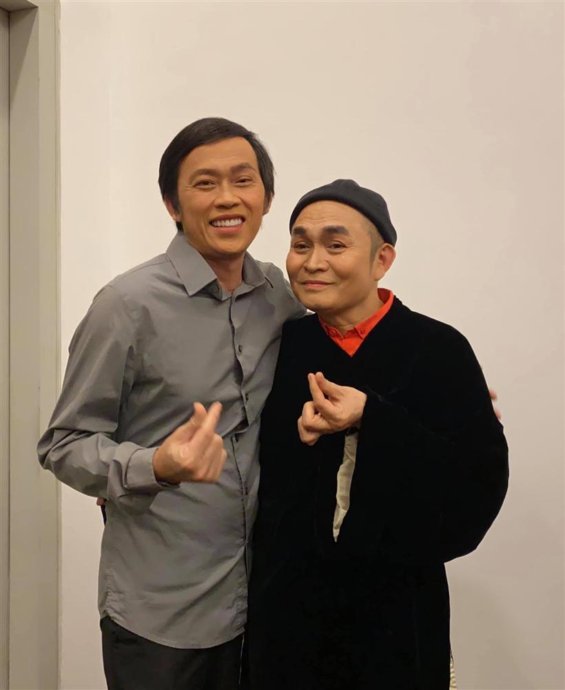 Hoài Linh gặp Xuân Hinh sau sự ra đi của Chí Tài: Xót xa 2 hình ảnh đối lập-1