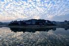 Hiện tượng 'bầu trời cá thu' xuất hiện ở Trung Quốc