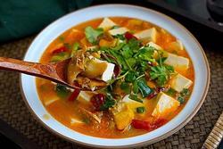 Nguyên liệu giá rẻ nấu thành món canh siêu ngon, đại bổ cho mùa đông lạnh giá