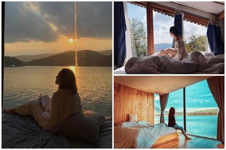 Những homestay Đà Lạt  có view cửa kính đẹp đến 'nín thở'