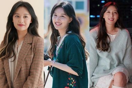Phong cách thời trang đậm cảm hứng vintage của Kim Ji Won trong phim mới