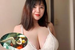 Bị chỉ trích đăng ảnh hở hang trong bồn tắm, nữ sinh ngực khủng Hải Dương phản ứng sốc
