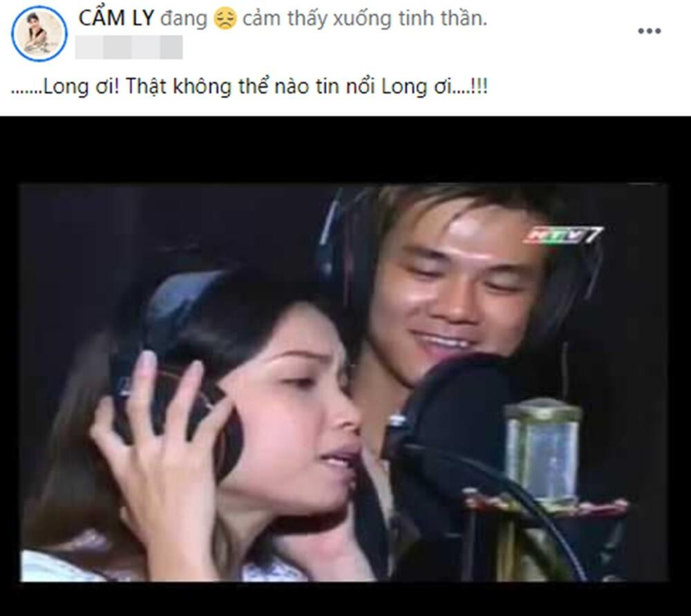 Cẩm Ly bàng hoàng, ngừng quay chương trình khi nghe tin Vân Quang Long qua đời-2