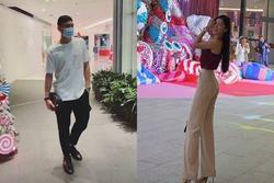 Văn Lâm khi có Yến Xuân bên cạnh: Đi hẹn hò thỏa thích, ngẫu hứng nhảy giữa trung tâm thương mại