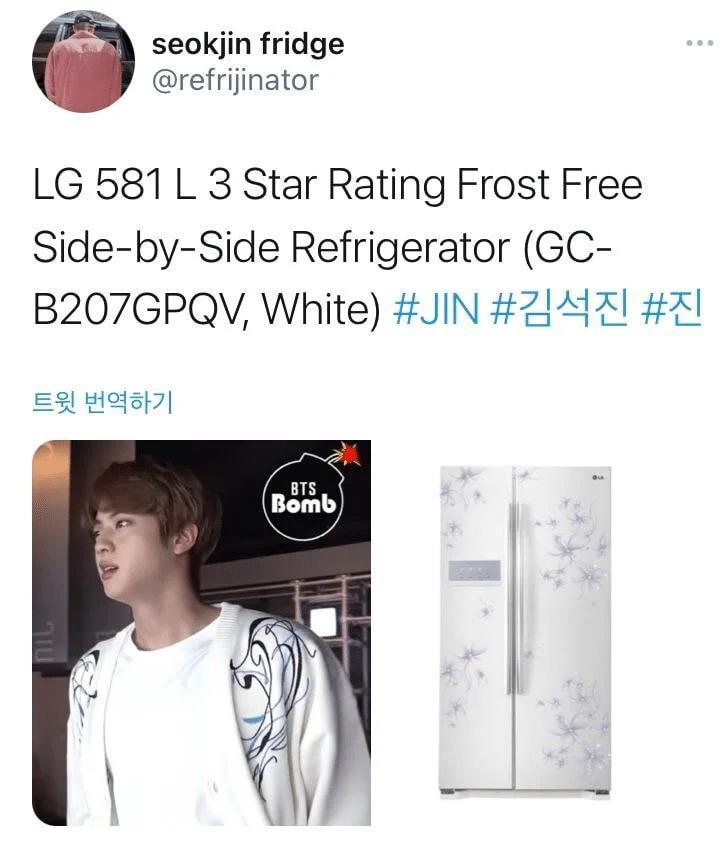 Jin BTS náo loạn mạng xã hội khi bỗng nhiên biến thành...tủ lạnh-6