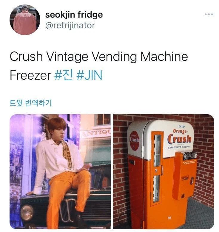 Jin BTS náo loạn mạng xã hội khi bỗng nhiên biến thành...tủ lạnh-15