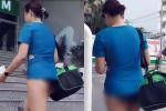 Người phụ nữ chuộng thả rông vòng 1 lại ăn đá tảng khi mặc đồ bó sát hở nội y ở phòng gym