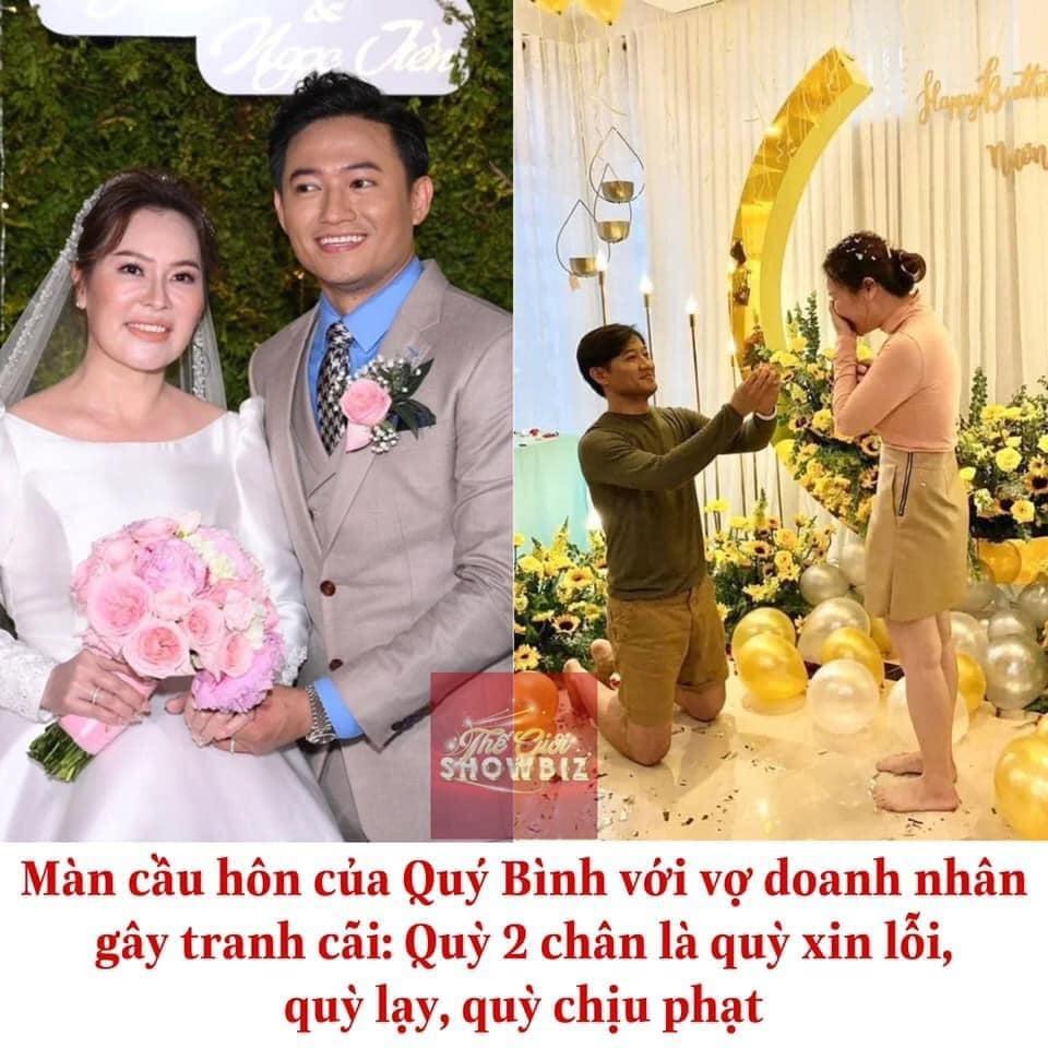 Màn cầu hôn của Quý Bình gây tranh cãi: Quỳ 2 gối là quỳ lạy, quỳ chịu phạt-3