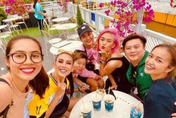 Mâu Thủy - nàng hậu nhuộm tóc táo bạo nhất showbiz Việt