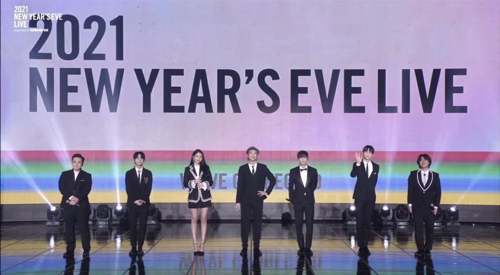 Big Hit 2021 New Year's Eve Live: BTS lần đầu xuất hiện với đội hình số 7 cùng Suga-7