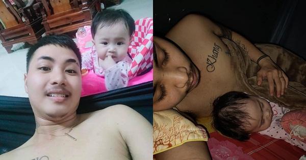 Cuộc sống gà trống nuôi con của người đàn ông Việt Nam đầu tiên mang thai-3
