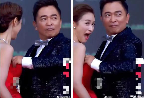 Nam ca sĩ xứ Đài gây tranh cãi khi dùng tay chỉnh ngực váy cho con gái lớn-2