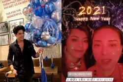 Huy Trần và Ngô Thanh Vân để lộ hint hẹn hò rõ mồn một ngày đầu năm