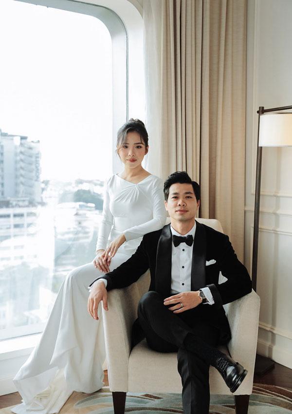 Đầu 2021, Công Phượng mở bát lộ loạt ảnh đẹp long lanh với Viên Minh sau 3 siêu đám cưới-5