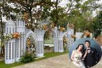 Bà xã Bùi Tiến Dũng lộ nhan sắc thật trong ngày cưới, khác xa ảnh sống ảo trên phây-7