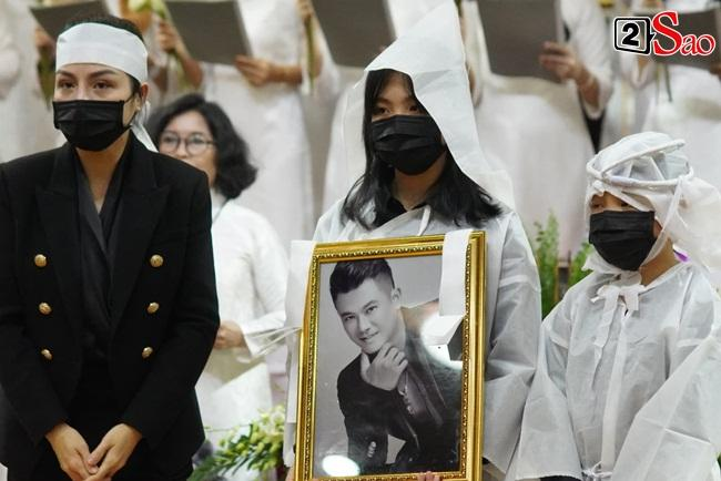 Xót xa cảnh vợ cũ - vợ mới cùng 3 con chịu tang Vân Quang Long-8