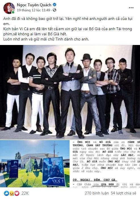 Quách Ngọc Tuyên phải sửa kịch bản phim vì sự ra đi của nghệ sĩ Chí Tài-7