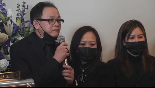 Cậu ruột, nghệ sĩ Việt nghẹn ngào trong lễ tang Vân Quang Long ở Mỹ-1