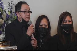 Cậu ruột, nghệ sĩ Việt nghẹn ngào trong lễ tang Vân Quang Long ở Mỹ
