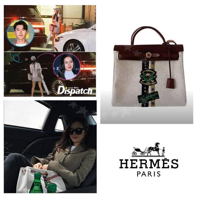 Soi chiếc túi Son Ye Jin cầm đi hẹn hò với Hyun Bin: Hóa ra cũng là tín đồ thích hàng độc giống Song Hye Kyo-1