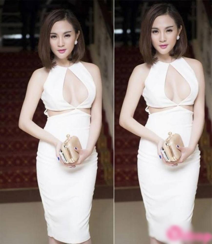 Vợ Justin Bieber diện đầm khoét ngực hiểm hóc na ná váy cực phèn của Lâm Khánh Chi-7