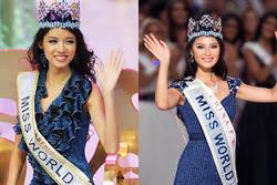 Đời đối lập của Hoa hậu Thế giới Trương Tử Lâm và Vu Văn Hà