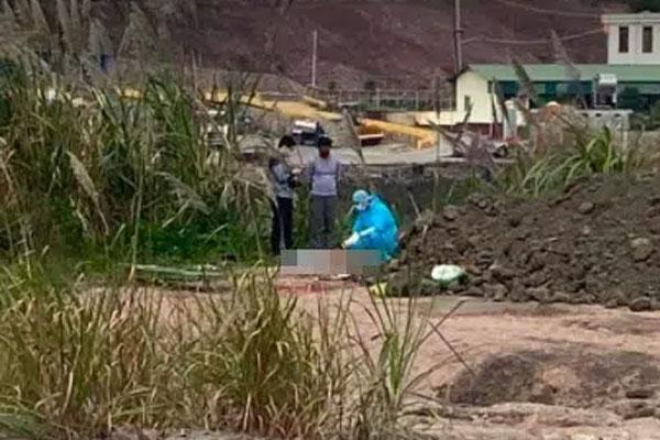 Phát hiện thi thể người đàn ông có hình xăm chữ love ở Quảng Ninh-1