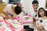 1 tháng tuổi đã được tặng trăm triệu, con gái Mạc Văn Khoa nhập hội rich kid