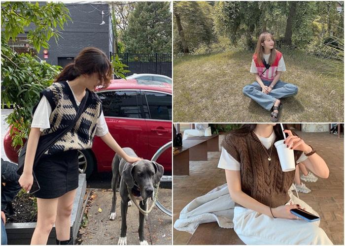 Học Jennie, Rosé BLACKPINK biến hóa phong cách với gile len-1
