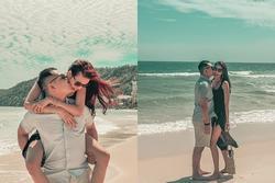 'Phát hờn' với màn ôm hôn trên biển của Tuấn John - Lan Khuê