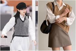 Học Jennie, Rosé BLACKPINK biến hóa phong cách với gile len