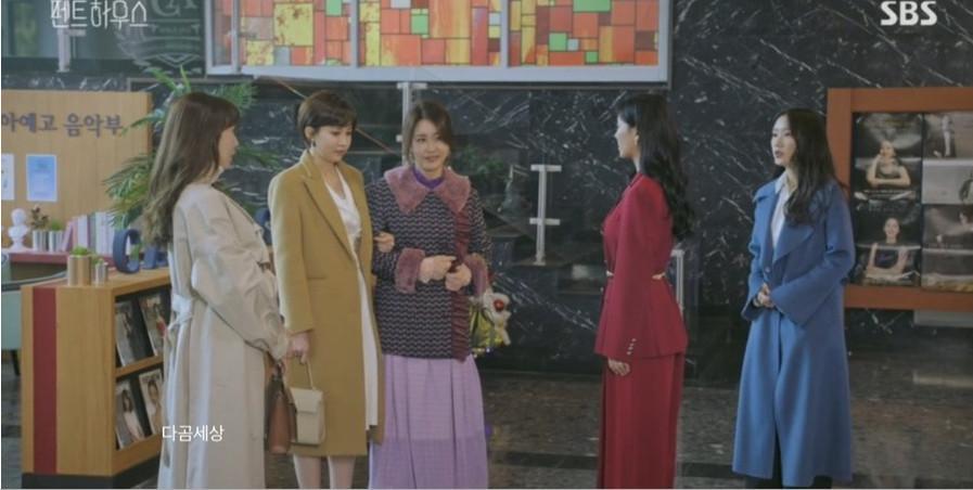 BST túi hiệu đắt đỏ của chị đẹp Lee Ji Ah (Shim Su-ryun) phim Penthouse-9