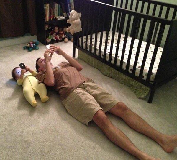 Loạt khoảnh khắc hài hước chứng minh định luật cha nào con nấy chuẩn không cần chỉnh-2