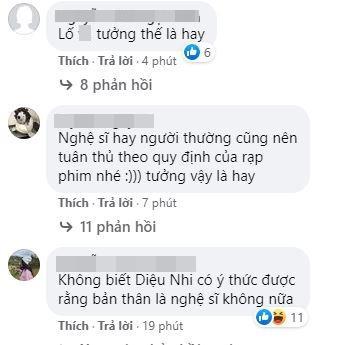 Diệu Nhi mang đồ ăn ngoài vào rạp phim, netizen rủ nhau lập group anti-4