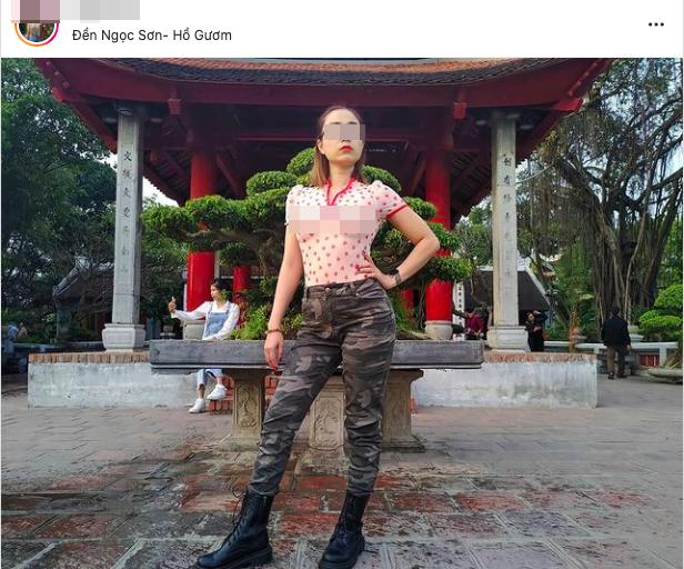 Người phụ nữ mặc váy khoét lưng, lộ vòng 1 phản cảm giữa thời tiết Sa Pa buốt giá-6
