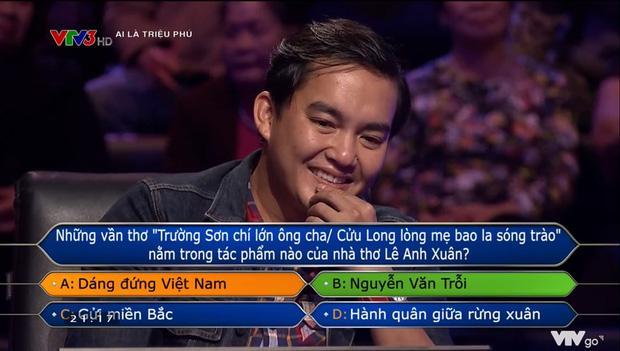 Chàng trai chơi lớn quyết ăn đủ 15 câu hỏi Ai là triệu phú, chớp mắt mất 63 triệu-3