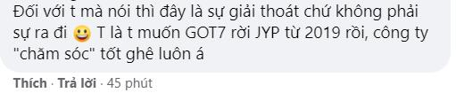 Thêm 1 thành viên GOT7 gặp gỡ công ty khác, fan bất ngờ ủng hộ nhiệt tình-6