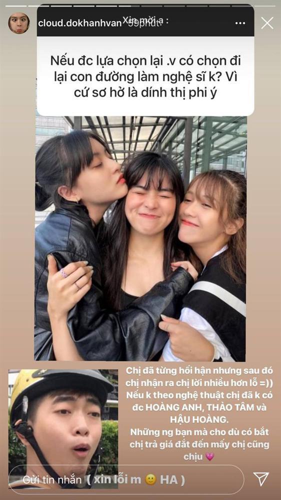 Khánh Vân đăng 7749 story tương tác, fan thêm cưng còn antifan thêm... ghét-8