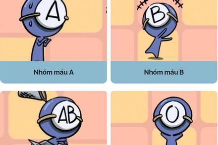 Trong 4 nhóm máu A - B - AB - O, ai là người dễ bị cảm xúc dẫn dắt nhất, động tí là rơi nước mắt?
