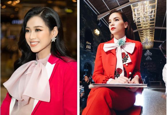 Đỗ Thị Hà giật spotlight nhờ suits đỏ nổi bật, netizen thắc mắc: Ủa sao giống Hà Hồ vậy?-4