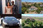 Khối tài sản 2,2 tỷ USD của Kim-Kanye